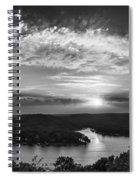 Sunset On The Niangua Spiral Notebook