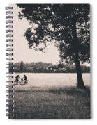 Sunset @park Spiral Notebook