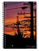 Sunset Sihouettes Spiral Notebook