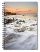 Sunset Tides Spiral Notebook