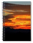Superstition Sunrise  Spiral Notebook