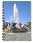 Swann Fountain - Center City Philadelphia Spiral Notebook