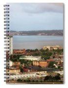 Swansea Bay South Wales Spiral Notebook