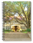 Swiss Avenue Historic Mansion Dallas Texas Spiral Notebook
