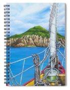 Take Me To Saba Spiral Notebook