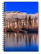 Talbot Lake Afternoon Panorama Spiral Notebook