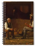 Talking It Over , Enoch Wood Perry  Spiral Notebook