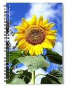 Tall And Sunny Spiral Notebook