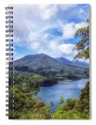 Tamblingan Lake - Bali Spiral Notebook