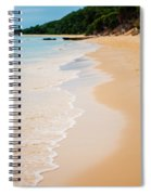 Tangalooma Island Beach In Moreton Bay.  Spiral Notebook