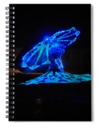 Tanoura Dancer Spiral Notebook