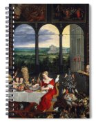Taste, Hearing And Touch Spiral Notebook