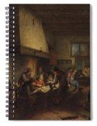 Tavern Scene Spiral Notebook