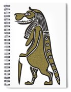Taweret - Mythical Creature Of Ancient Egypt Spiral Notebook