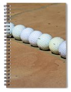 Tee Time Spiral Notebook