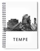 Tempe Arizona Skyline Spiral Notebook