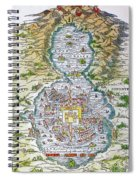 Tenochtitlan (mexico City) Spiral Notebook
