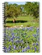 Texas Wildflowers Spiral Notebook