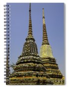 Thailand Architecture Spiral Notebook