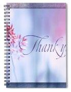 Thank You 1 Spiral Notebook