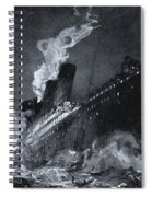The 46,328 Tons Rms Titanic Of The Spiral Notebook