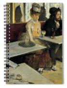 The Absinthe Spiral Notebook