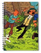 The Adventures Of Tintin Spiral Notebook