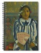 The Ancestors Of Tehamana Spiral Notebook