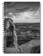 The Archway Bw Spiral Notebook