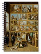 The Art Collection Of Archduke Leopold Wilhelm In Brussels Spiral Notebook
