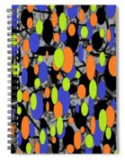 The Arts Of Textile Designs #58 Spiral Notebook