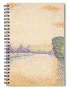 The Banks Of The Marne At Dawn Spiral Notebook