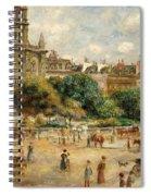 Place De La Trinite, 1893 Spiral Notebook