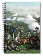 The Battle Of Winchester Spiral Notebook