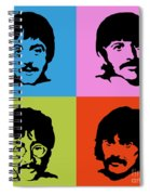 The Beatles Colors Spiral Notebook