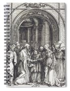 The Betrothal Of The Virgin Spiral Notebook