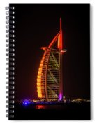 The Burj Al Arab Spiral Notebook
