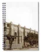 The Campanario, Or Bell Tower Of San Gabriel Mission Circa 1890 Spiral Notebook
