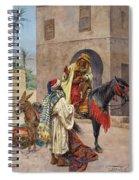 The Carpet Seller Spiral Notebook