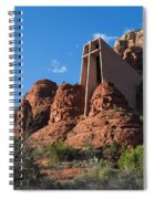 The Chapel Of The Holy Cross Spiral Notebook