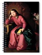 The Child Virgin Asleep Spiral Notebook