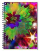 The Christmas Of Oz Spiral Notebook