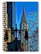 The Chrysler Building Spiral Notebook