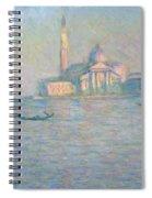 The Church Of San Giorgio Maggiore Spiral Notebook