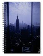 The City Below Spiral Notebook