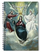 The Coronation Of The Virgin Spiral Notebook