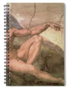 The Creation Of Adam Spiral Notebook