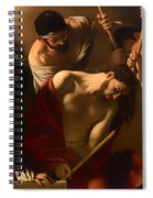 The Crowing With Thorns Spiral Notebook