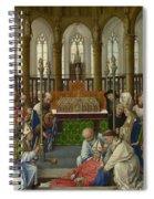 The Exhumation Of Saint Hubert Spiral Notebook
