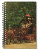The Fairman Rogers Coach And Four Spiral Notebook